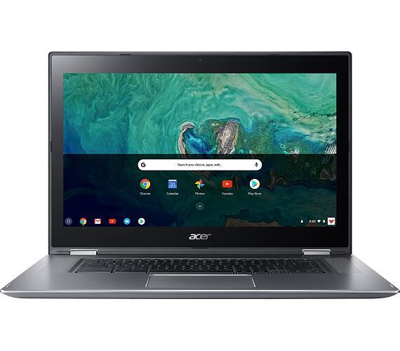 "Acer Chromebook Spin 15 - 15,6T""/N4200/4G/64GB/Chrome stříbrný (NX.GWGEC.001)"