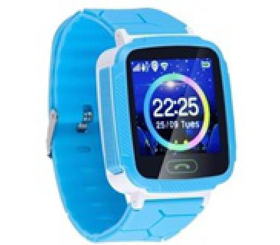 GOCLEVER chytré hodinky Kiddy GPS WATCH - modré (GCWKGWE) b0cd1e2da75