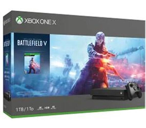XBOX ONE X - 1TB + Battlefield V Limited Edition (FMP-00031)