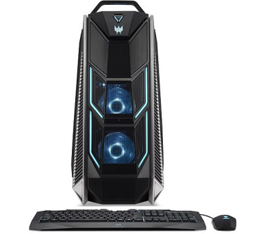 Acer Predator PO9-900 Orion Ci9-7900X/4x16GB/512GB SSD+3TB/RTX 2080 Ti*2/DVDRW/W10 Home (DG.E0PEC.012)