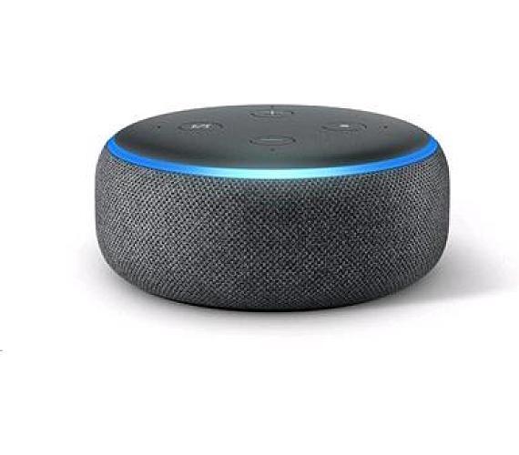 Amazon Echo Dot Charcoal (černý) (3.generace) + DOPRAVA ZDARMA