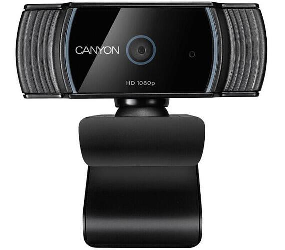 Canyon webová kamera C5 - FHD 1920x1080@30fps,2MPx,360°,USB2.0CANYON webová kamera C5 - FHD 1920x1080@30fps,2MPx,360°,US (CNS-CWC5)