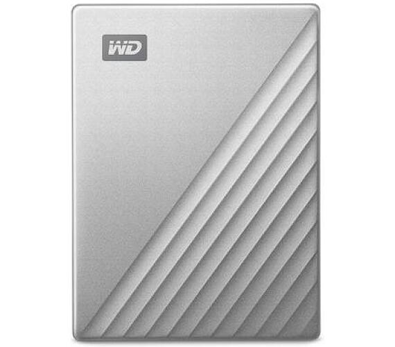 "Ext. HDD 2,5"" WD My Passport Ultra 4TB stříbrná (WDBFTM0040BSL-WESN)"