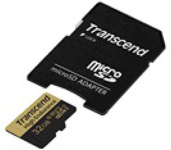 TRANSCEND High Endurance micro SDHC U1 32GB + adapter