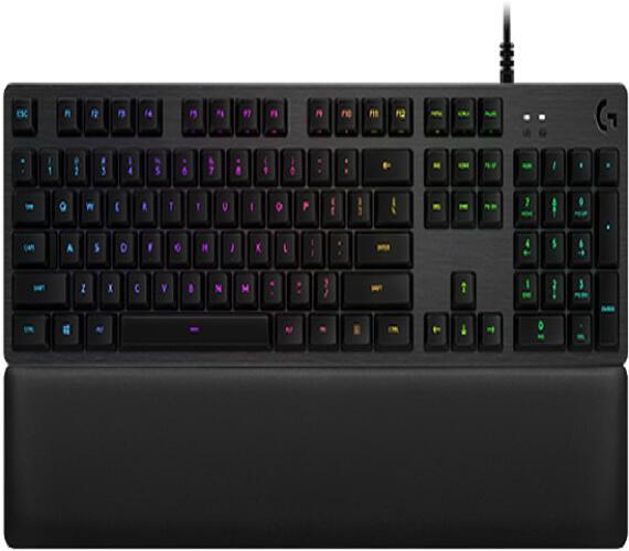 Logitech klávesnice Gaming G513 s dotykovými spínači Carbon + DOPRAVA ZDARMA