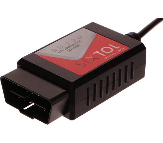 SIXTOL SC1 OBD2 USB + Touchscan CZ + DOPRAVA ZDARMA