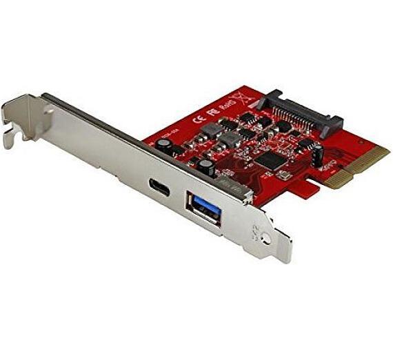 KOUWELL řadič pro 1x USB 3.1 Type-C + 1x USB 3.1 Type-A / PCIe / LowProfile (UB-138-2)