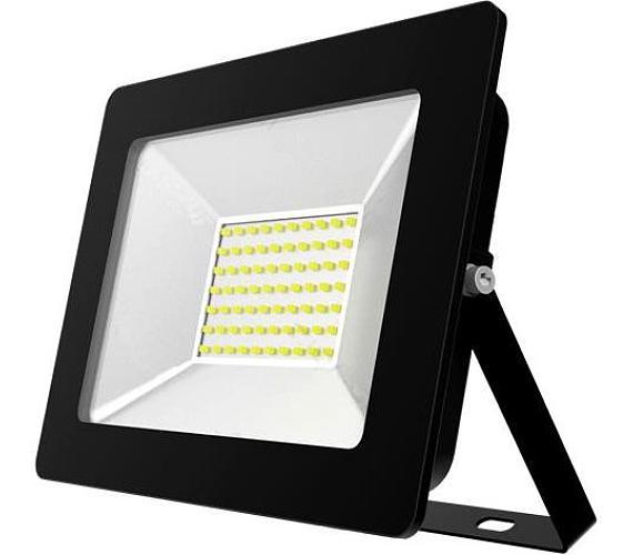 TESLA LED reflektor/ 50W/ 4500lm/ 230V/ IP65/ 6000K/ studená bílá/ černý (FL265060-8)