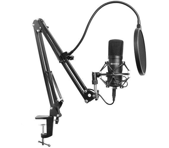 SANDBERG Streamer USB mikrofon Kit + DOPRAVA ZDARMA