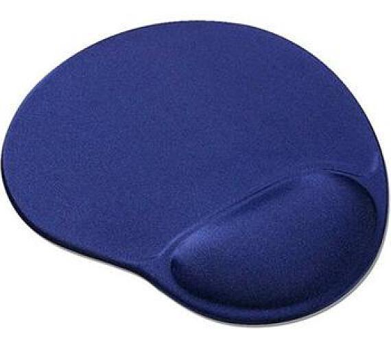 PREMIUMCORD Podložka pod myš gelová modrá (pmg)