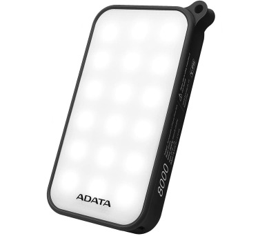 ADATA D8000L Power Bank 8000mAh černá LED svítilna (AD8000L-5V-CBK)