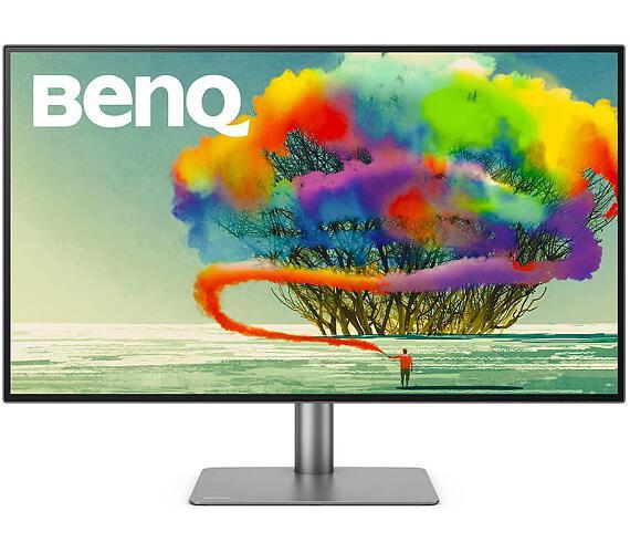 "BENQ 32"" LED PD3220U/ IPS panel/ 3840x2160/ 20M:1/ 5ms/ 2x HDMI/ DP/ USB/ USB-C/ Thunderbolt/ FF/ LBL/ černý (9H.LH7LA.TBE)"