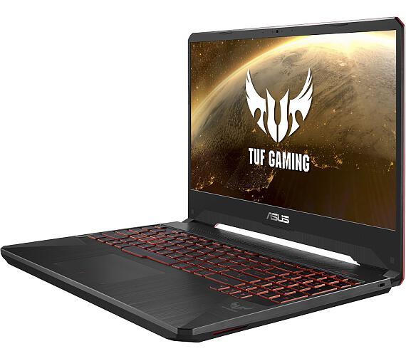 """ASUS FX505GE-BQ410T i7-8750H/16GB/512GB SSD/GTX1050Ti/15,6"""" FHD,IPS/Win10/černý"""