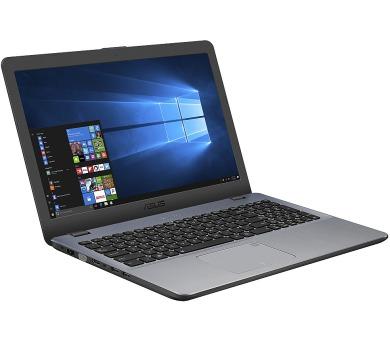 """ASUS X542UF-DM206T i7-8550U/8GB/256GB SSD/DVDRW/GeForce MX130 2GB/15,6"""" FHD matný/W10 Home/Silver"""