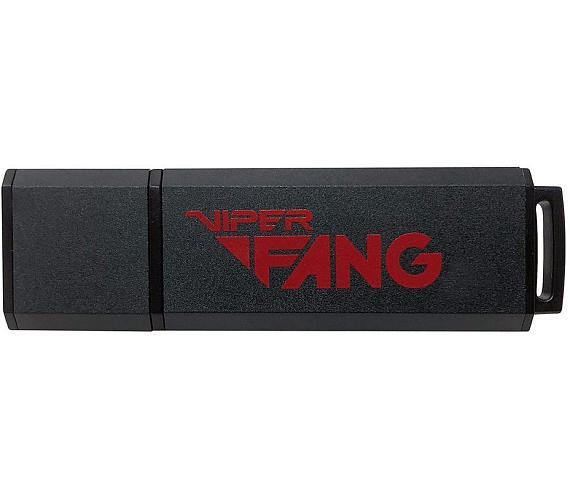 PATRIOT Flash disk Viper Fang Gaming USB 512GB / USB 3.1 / černá (PV512GFB3USB) + DOPRAVA ZDARMA