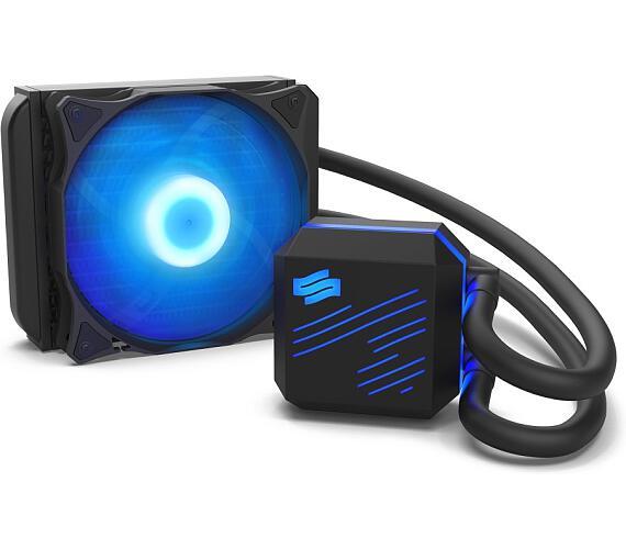 SilentiumPC vodní chladič Navis RGB 120 AiO / 120mm fan / 22dBA / pro AM3/AM4/ LGA 2011 + DOPRAVA ZDARMA