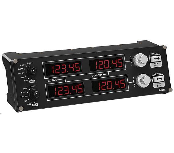 Logitech G Saitek Pro Flight Radio Panel - WW (945-000011) + DOPRAVA ZDARMA