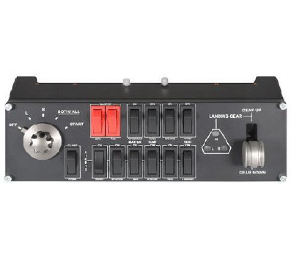 Logitech® G Saitek Pro Flight Switch Panel - WW (945-000012) + DOPRAVA ZDARMA