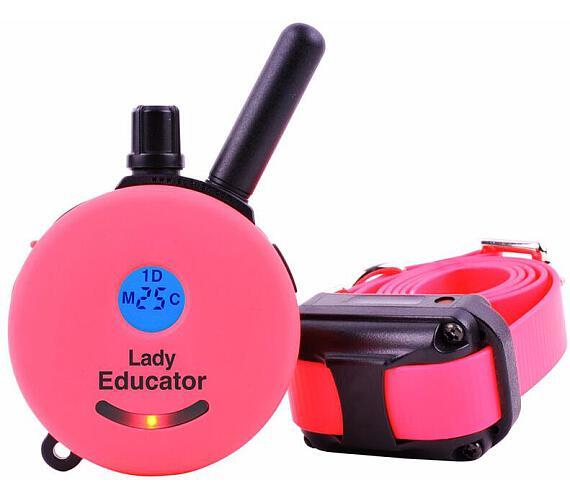 E-collar Educator ET-300 - pro 1 psa růžová + DOPRAVA ZDARMA