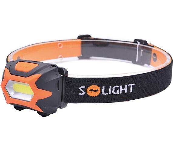 Solight čelová LED svítilna