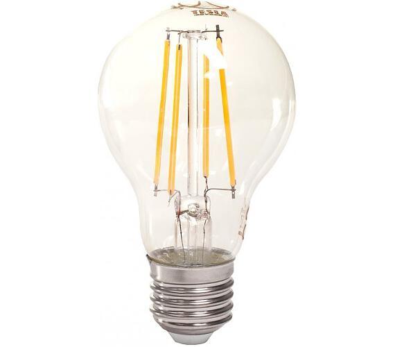 TESLA LED žárovka CRYSTAL RETRO BULB/ E27/ 8W/ 230V/ 1055lm/ 2700K/ teplá bílá/ čirá (BL27082