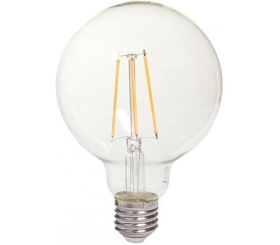 TESLA LED žárovka CRYSTAL RETRO GLOBE/ E27/ 8W/ 230V/ 1055lm/ 2700K/ teplá bílá/ čirá (GL2708