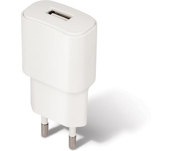 Forever USB 2A TC-01 s micro USB kabelem bílý