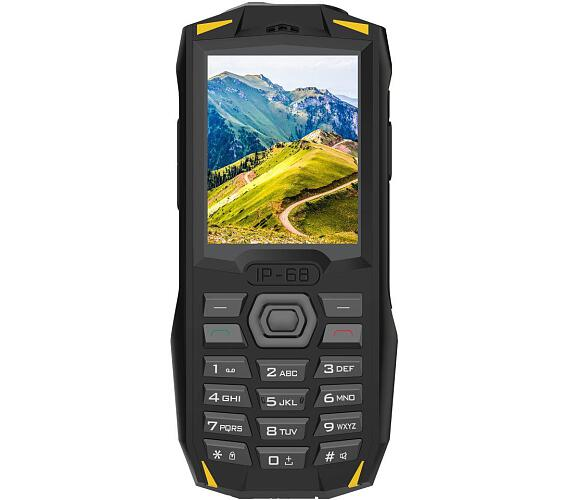 iGET Blackview GBV1000 Yellow - odolný telefon IP68