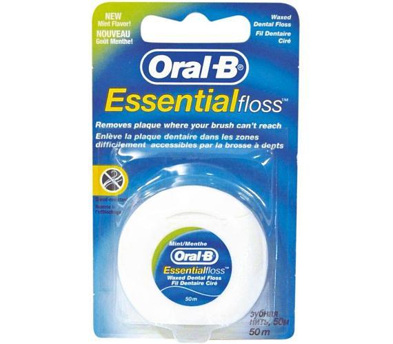 Dentální nit Essentials 50m ORAL B Oral-B
