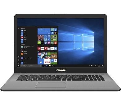 """ASUS VivoBook Pro - 17,3""""/i7-8565U/256SSD+2TB/2*8G/MX150/W10 šedý (N705FN-GC017T)"""
