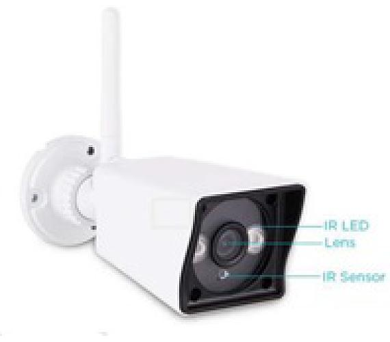 GOCLEVER monitorovací kamera OMEGA EYE 3 (HCAMOME3F)