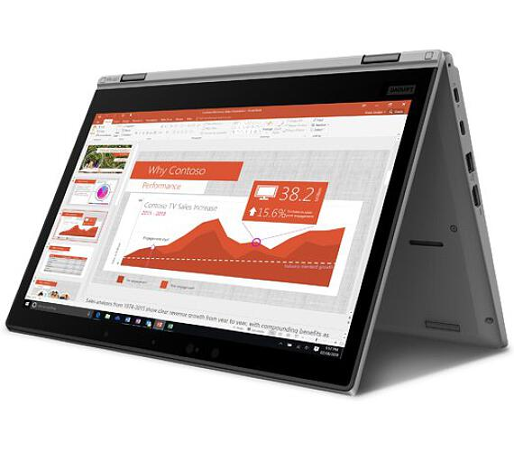 "Lenovo ThinkPad L390 Yoga i5-8265U/8GB/256GB SSD/UHD Graphics 620/13.3"" FHD Touch/Win10Pro/Silver (20NT0011MC)"