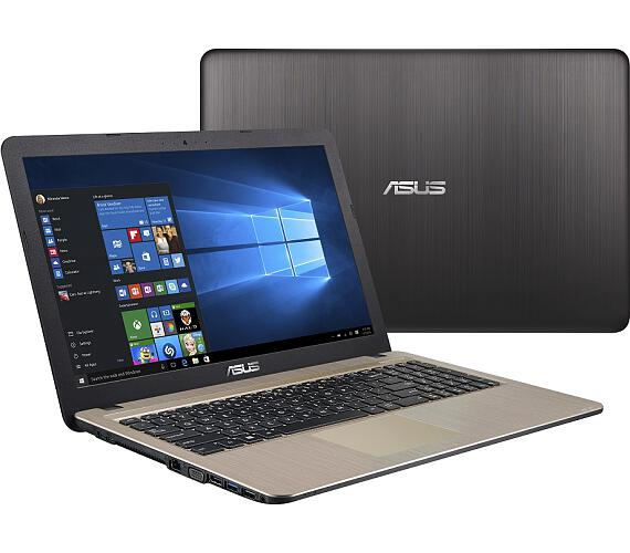 "ASUS X540MB-DM094T Pentium N5000/4GB/1TB 5400ot./MX110/15,6""FHD/Win10/černý"