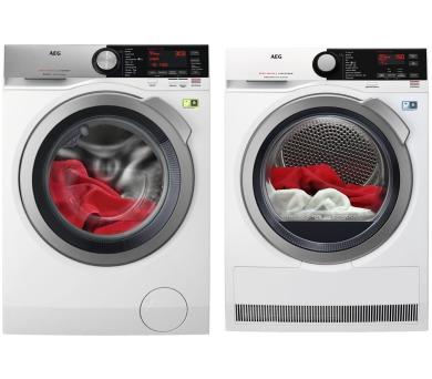 AEG ÖKOMix® L8FEC49SC + Sušička prádla AEG AbsoluteCare® T8DBE48SC + DOPRAVA A MONTÁŽ ZDARMA
