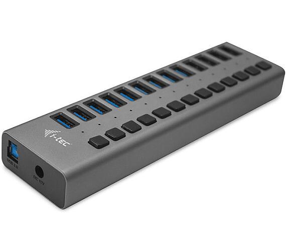 i-tec USB 3.0 nabíjecí HUB 13 Port + napájecí adaptér 60 W (U3CHARGEHUB13) + DOPRAVA ZDARMA