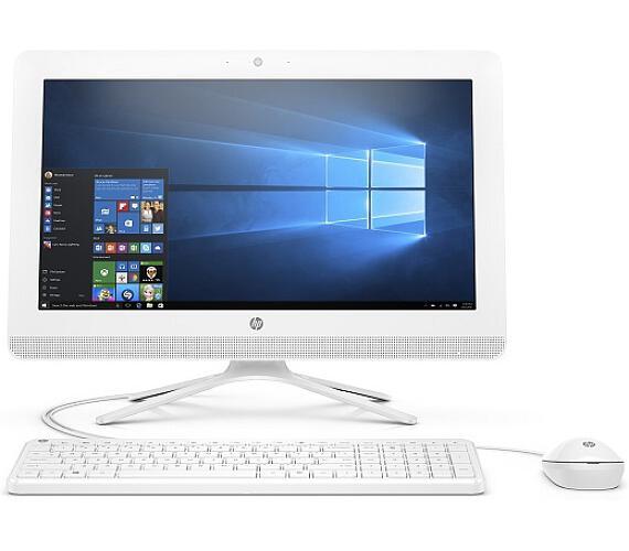 """HP AIO 20-c406nc/19,5"""" FHD WLED AG/Celeron J4005/4GB/1TB/UHD 600/DVDRW/Win 10 Home/Snow - white (4JX37EA#BCM)"""
