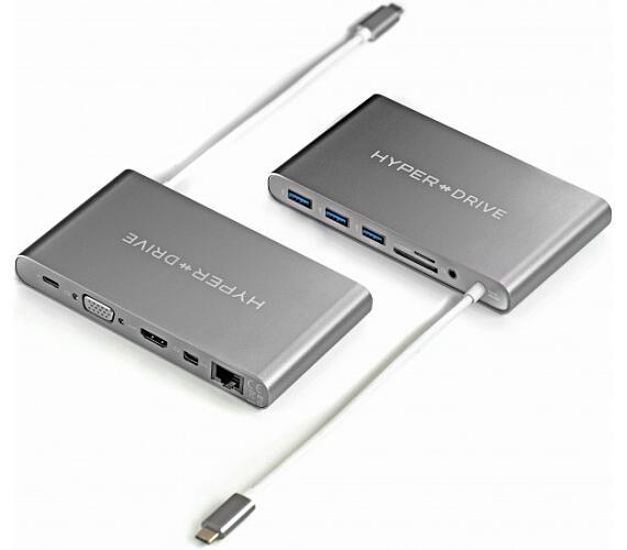 HyperDrive™ Ultimate USB-C Hub - Space Gray (HY-GN30B-GRAY) + DOPRAVA ZDARMA