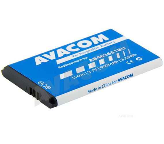 AVACOM Baterie do mobilu Samsung AB463651BU Li-Ion 3,7V 900mAh (náhrada AB463651BU) (GSSA-S5610-900)