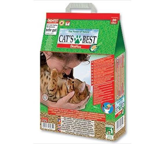 Podestýlka Cats Best Öko Plus Kočkolit 20l Beaphar