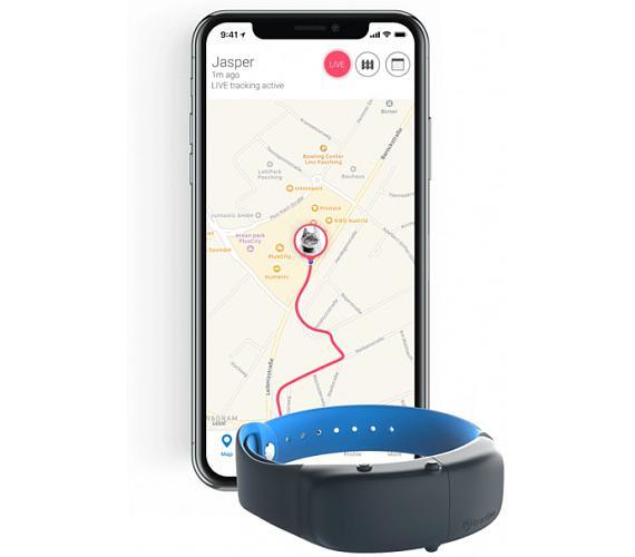 Tractive GPS obojek pro kočky s bezpečnostním mechanizmem + DOPRAVA ZDARMA
