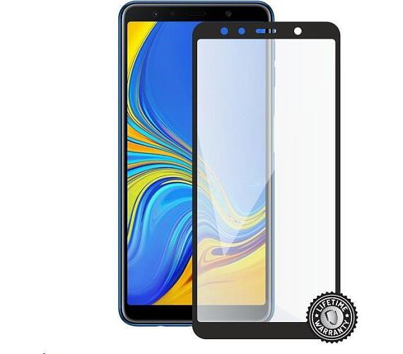 Screenshield SAMSUNG A750 Galaxy A7 (2018) Tempered Glass protection (full COVER black) (SAM-TG25DBA750-D)