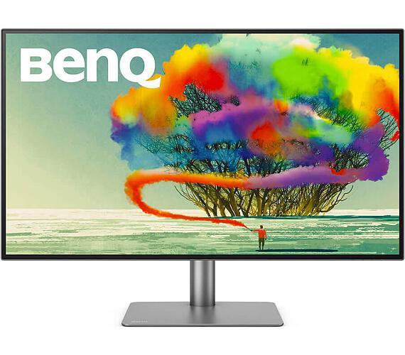 "BENQ 27"" LED PD2720U/ FF/ LBL/ IPS panel/ 3840x2160/ 20M:1/ 5ms/ 2x HDMI/ DP/ USB/ Thunderbolt 3/ repro/ Pivot/ černý (9H.LHKLA.TBE)"