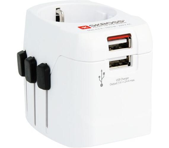 SKROSS cestovní adaptér SKROSS PRO Light USB