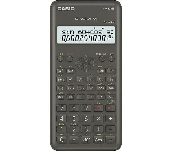 Kalkulačka CASIO FX 82MS 2E