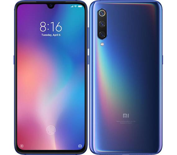 Xiaomi Mi 9 6GB/64GB Dual Sim Blue + DOPRAVA ZDARMA