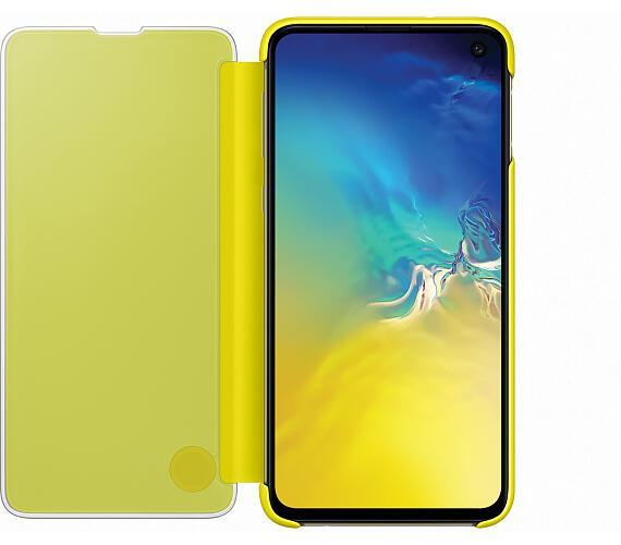 Samsung Clear View Cover S10e Yellow (EF-ZG970CYEGWW) + DOPRAVA ZDARMA