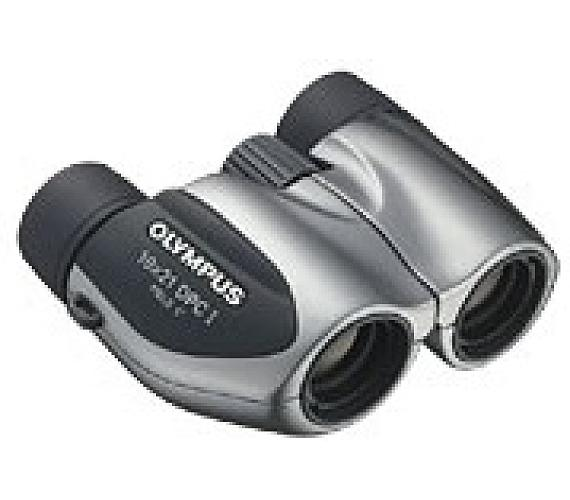 OLYMPUS dalekohled 10x21 DPC I Silver (17064)