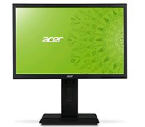 ACER LCD B226WLymdpr,56cm(22'')LED,1680x1050,100M:1,250cd/m2,170°/160°,5ms,DVI,DP,DarkGrey,Pivot,3r on-site (UM.EB6EE.001#OB)
