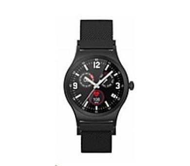 GOCLEVER chytré hodinky FIT WATCH ELEGANCE black