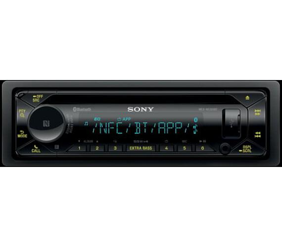 SONY MEX-N5300BT CD/mp3 přehrávač do automobilu s technologií NFC/Bluetooth® (MEXN5300BT.EUR)